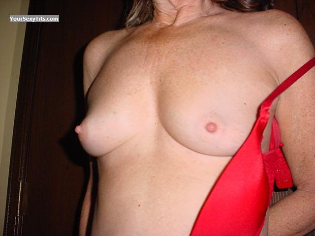Tit Flash: Medium Tits - Judy from United States